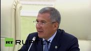 Russia: Hungary and Tatarstan should boost cooperation, says President Minnikhanov