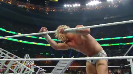 money in the bank 2014 contract ladder match part two