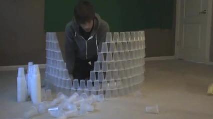 Един човек 600 чаши