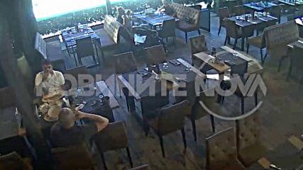 Група мъже потрошиха заведение в София (ВИДЕО+СНИМКИ)
