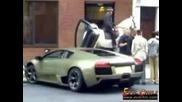 Ужасна катастрофа на Lamborghini Murcielago