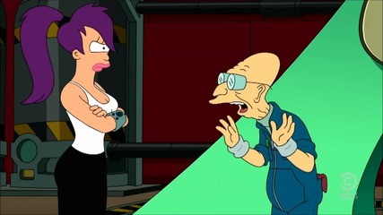 Futurama - Professor updates the matter converter