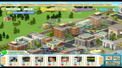 Cityville - Геймплей guides cheats hacks tricks