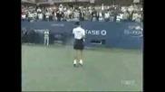 Novak Djokovic Имитира Nadal И Sharapova