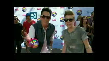 Здрач каста на Teen Choice Awards 2012