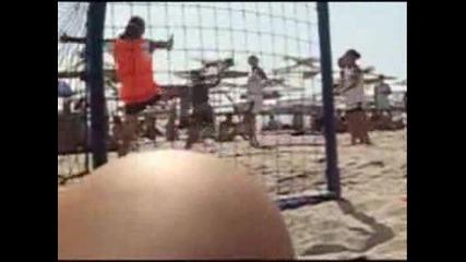 Beach Handball In Golden Beach