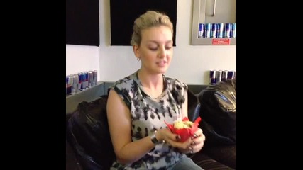Perrie and Her Cake