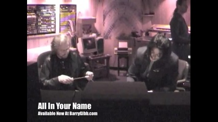 All In Your Name - Part 3 Barry Gibb feat Michael Jackson -