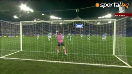Лудогорец победи Лацио след гол на Безяк! 0-1