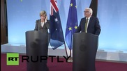Germany: We should improve our sea rescue of stranded migrants - FM Steinmeier