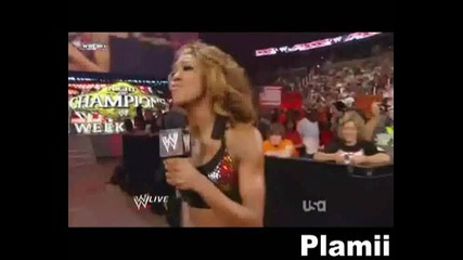 Melina Perez Vs. Alicia Fox - Like me Mv