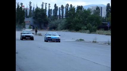 Honda Cr - X B16a1 vs. Opel Astra Gsi 16v