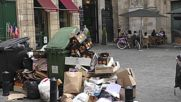 France: Rubbish piles up in Bordeaux as strike continues over labour reforms