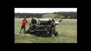 Rolls Royce Griffon Mk 58 Engine being fired up