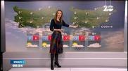 Прогноза за времето (12.12.2014 - сутрешна)