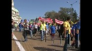 Протест на производители на найлонови торбички срещу екотакса