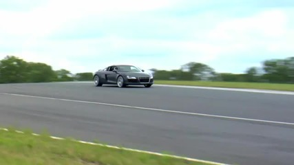 Audi R8 4.2 Supercharged, Faster than V10 Fsi On Track Test