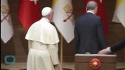 Turkey's Erdogan Says He 'condemns' Pope Francis for Describing Armenian Killings as Genocide