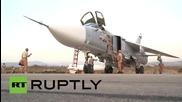 Сирия: Руските въздушни сили набелязват бази на IS от Латакиа