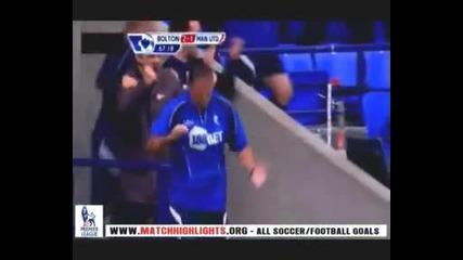 Болтън 2:2 Манчестър Юнайтед