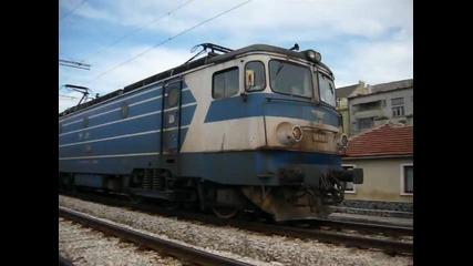 Товарен влак с локомотив 46010