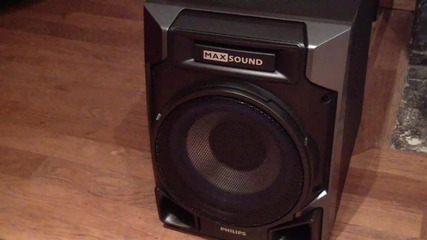 Philips Fwm 608. sound and bass test Hd (get the volume on max !!!)