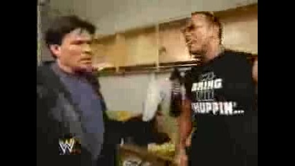 The Rock Talks To Eric Bischoff