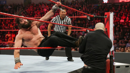 Elias vs. Baron Corbin: Raw, Jan. 21, 2019