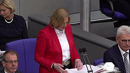 Germany: SPD's Barbel Bas elected new president of Bundestag