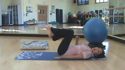 Pop Pilates - тренировка за корем
