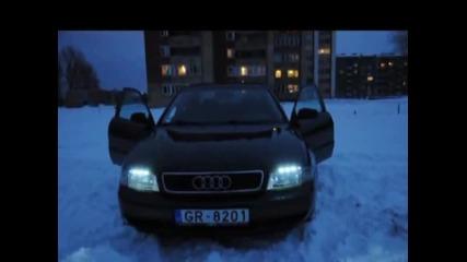 Audi A4 цветомузика