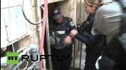 Израел: Израелската полиция пуска сълзотворен гас срещу протестиращи
