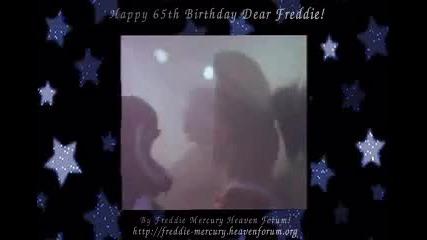 Честит 65ти Рожден Ден, Фреди!