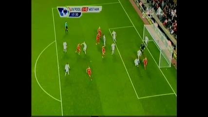 Liverpool 1 - 0 West Ham ( Johnson Goal )