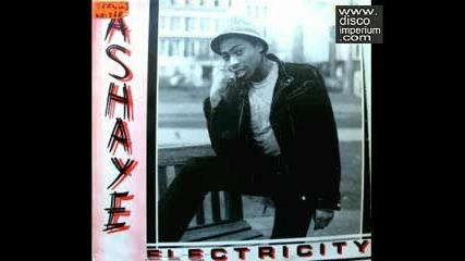 Ashaye - Electricity Hi - Nrg Disco 1983 .