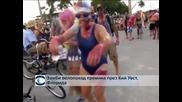 Хиляди зомбита караха колелета през Кий Уест, Флорида