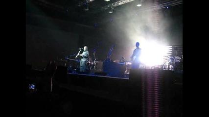 Massive Attack - Angel (зала Фестивална 15.07.10)