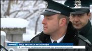 В село Ореш изпратиха загиналия при границата полицай