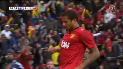 Аякс Кейптаун - Манчестър Юнайтед 1-1 Бебе гол!