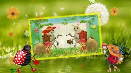 Две калинки - като балеринки! ... (детска песен)