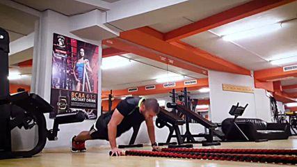 90 дневна трансформация | Изграждане на мускул, горене на мазнини | Ден 36 - Гърди, трицепс