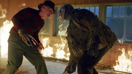 Мега култовият кросоувър филм Фреди срещу Джейсън (2003)