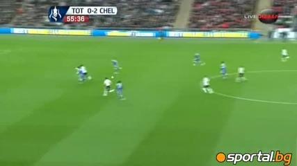 Челси прегази Тотнъм и е на финал!!!