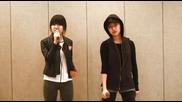 Yg Trainee - Kim Eunbi & Euna Kim Practice Clip (06.04.2012)