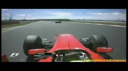 F1 Felipe Massa Onboard Great Britain