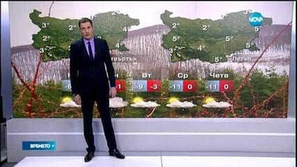 Прогноза за времето (07.02.2015 - централна)
