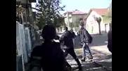 Откачане на улицата
