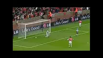 Top 10 Arsenal goals 08/09