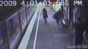 Майка Изпусна Бебето Си Под Влак И То Оцеля