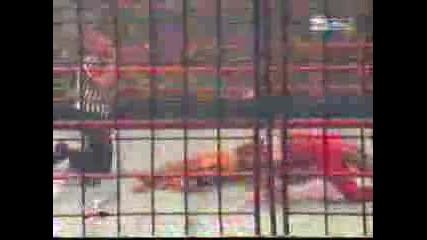 Wwe Edge Vs Christian - Cage Match